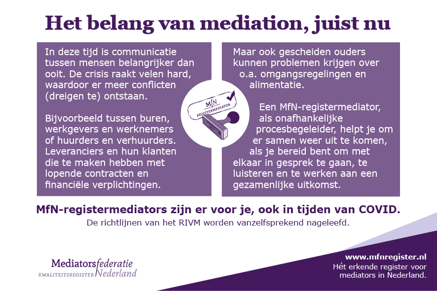 mfn-register mediators corona